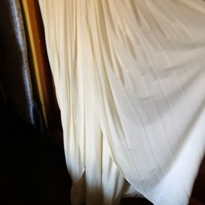 Ivory long gown